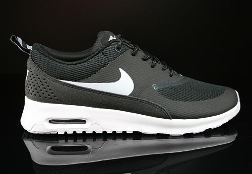 nike air max thea damen sneakers schwarz
