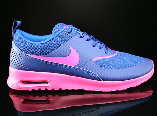 Nike WMNS Air Max Thea Deep Royal Blue Hyper Pink Hyper Cobalt Sneakers 599409-405