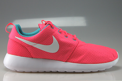 Nike WMNS Rosherun Hyper Punch White Dusty Cactus Sneakers 511882-608