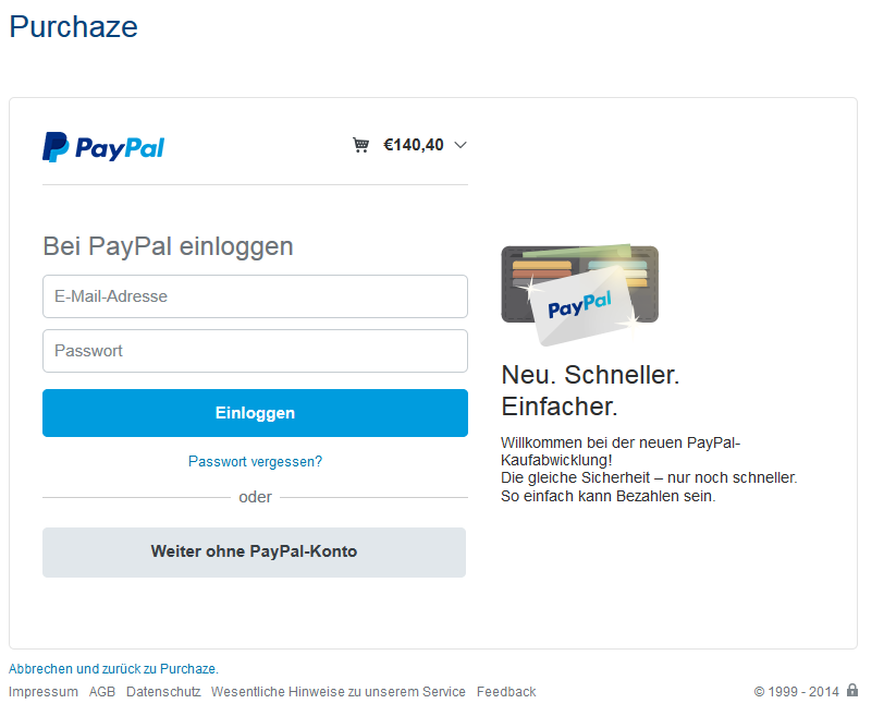 paypal schufa