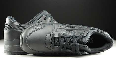 Asics Gel Lyte III Black Black Over view