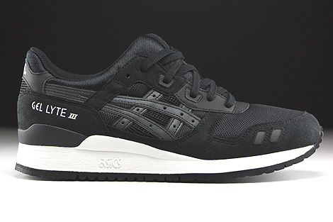 Asics Gel Lyte III Black Black Right