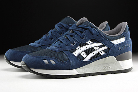 asics gel lyte navy blue