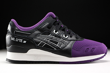 Asics Gel Lyte III Purple Black Right