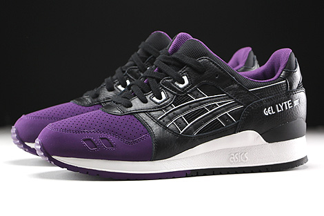 Asics Gel Lyte III Purple Black Profile