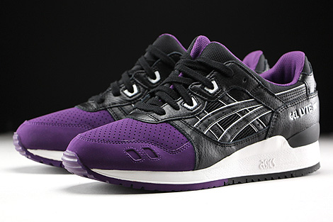 Asics Gel Lyte III Purple Black Sidedetails