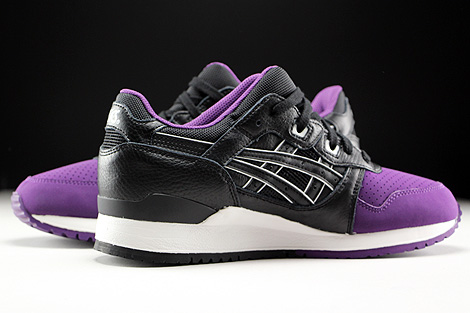Asics Gel Lyte III Purple Black Inside