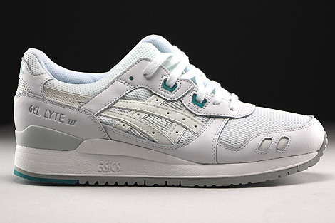 Asics Gel Lyte III White White Right