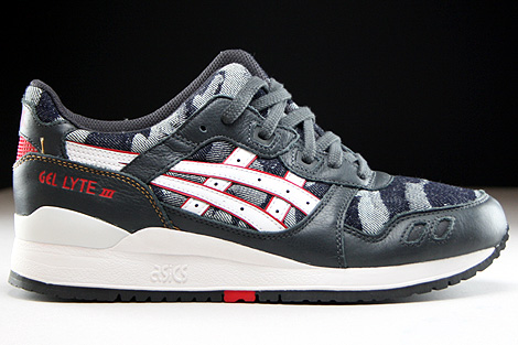 Asics Gel Lyte III Dark Grey White Right