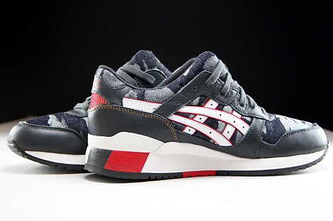 Asics Gel Lyte III Dark Grey White Inside