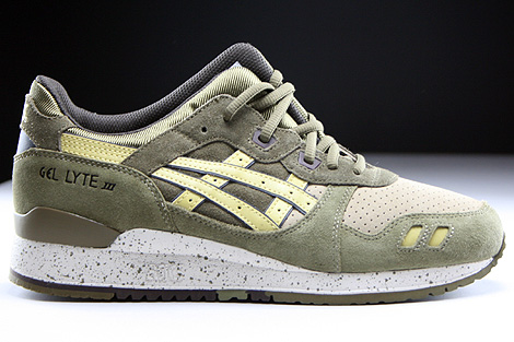 Asics Gel Lyte III Olive Sunshine Right