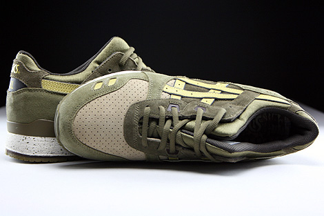 Asics Gel Lyte III Olive Sunshine Over view