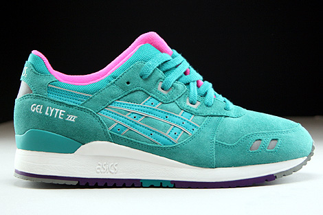 Asics Gel Lyte III Tropical Green Right