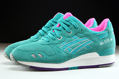Asics Gel Lyte III Tropical Green Profile