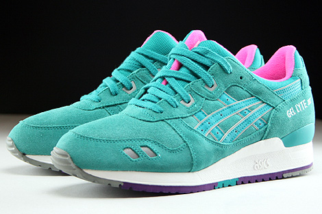 Asics Gel Lyte III Tropical Green Sidedetails