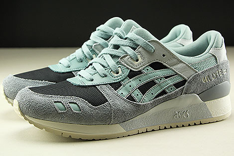 Asics Gel Lyte III Black Blue Surf Profile