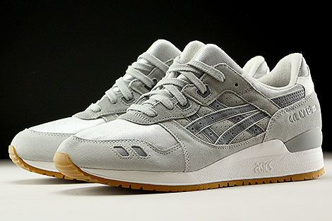 Asics Gel Lyte III Summer Grey Mesh Pack Seitendetail
