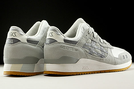 Asics Gel Lyte III Summer Grey Mesh Pack Back view