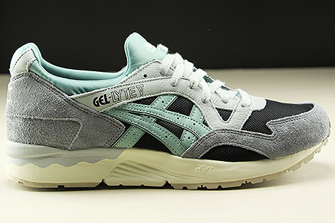 Asics Gel Lyte V Black Blue Surf Right