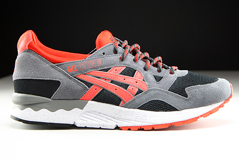 Asics Gel Lyte V Black Orange.com Right