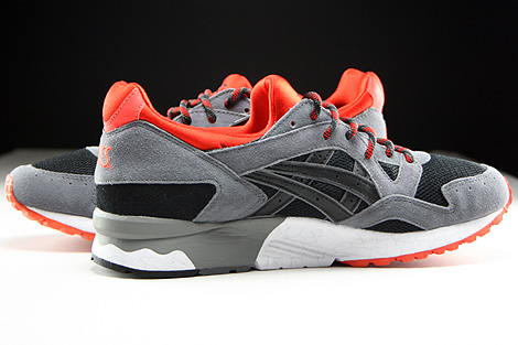 Asics Gel Lyte V Black Orange.com Inside