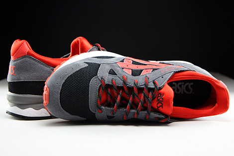 Asics Gel Lyte V Black Orange.com Over view