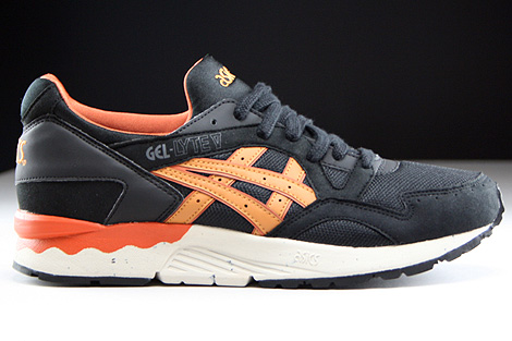 Asics Gel Lyte V Black Tan Right