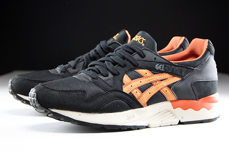 asics gel lyte 5 black tan