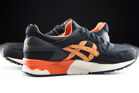 Asics Gel Lyte V Black Tan Inside