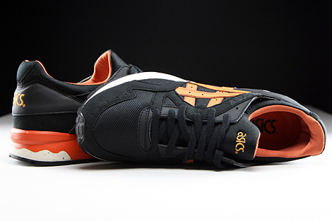 Asics Gel Lyte V Black Tan Over view
