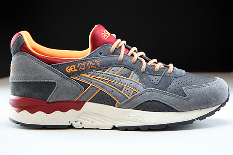 ... Asics Gel Lyte V Dark Grey Grey Right ...