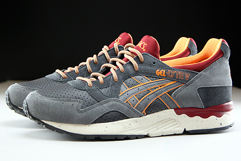 Asics Gel Lyte V Dark Grey Grey Profile