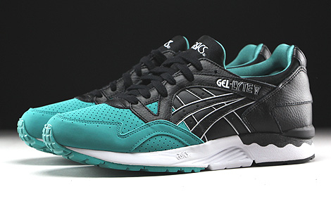Asics Gel Lyte V Latigo Bay Black Profile
