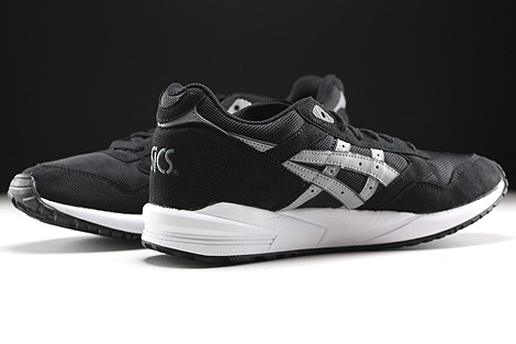 Asics Gel Saga Black Light Grey Inside