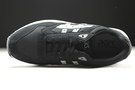 Asics Gel Saga Black Light Grey Over view