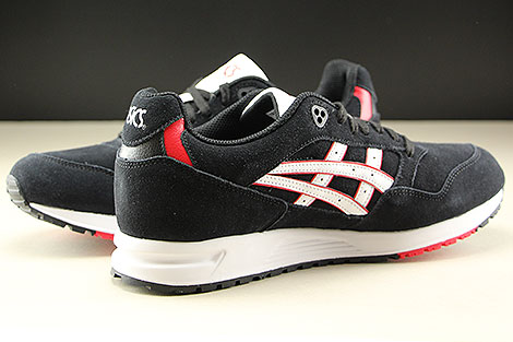 Asics Gel Saga Black White Inside