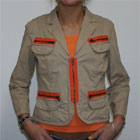 DKNY Blazer Beige Orange