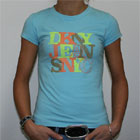 DKNY Jeans NYC T Shirt Lightblue