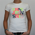 DKNY Jeans NYC T Shirt White