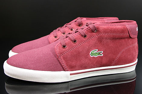 Lacoste Ampthill TBC SPM Dark Red Profile