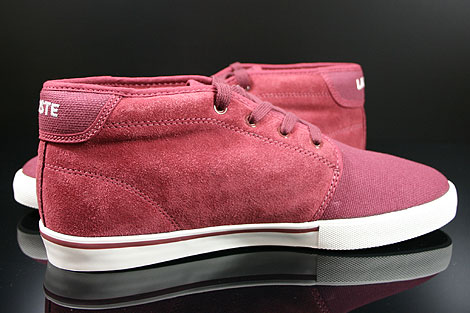 Lacoste Ampthill TBC SPM Dark Red Inside