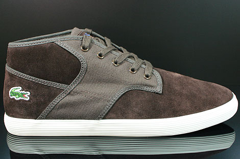 Lacoste Andover Mid CIW SPM LTH CNV Dark Brown Right