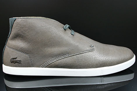 Lacoste Arona 14 SRM LTH Dark Grey White Right