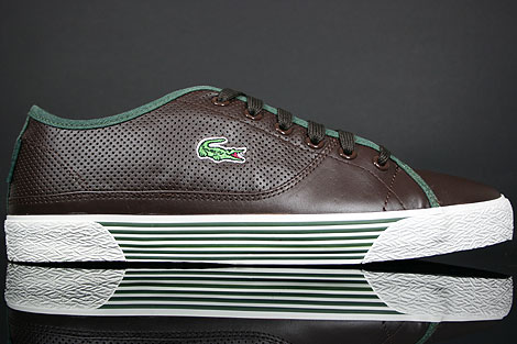 Lacoste Auvergne AL SPM LTH Dark Brown Dark Green