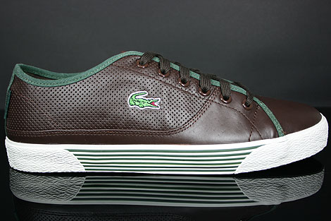 Lacoste Auvergne AL SPM LTH Dark Brown Dark Green Profile