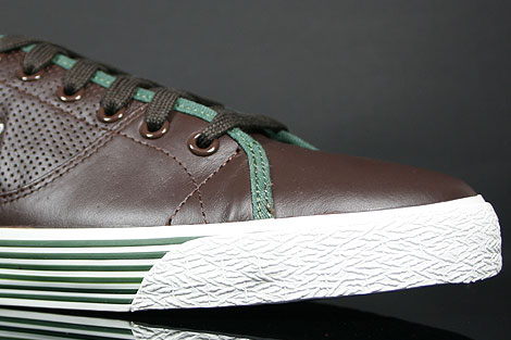Lacoste Auvergne AL SPM LTH Dark Brown Dark Green Inside