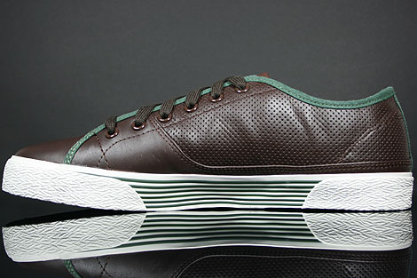 Lacoste Auvergne AL SPM LTH Dark Brown Dark Green Back view