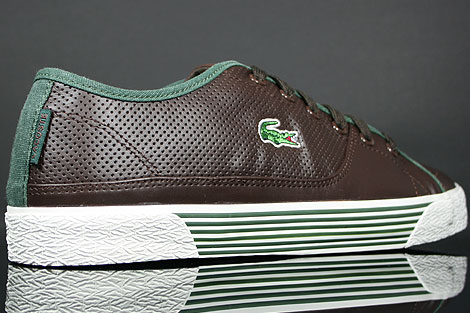 Lacoste Auvergne AL SPM LTH Dark Brown Dark Green Over view