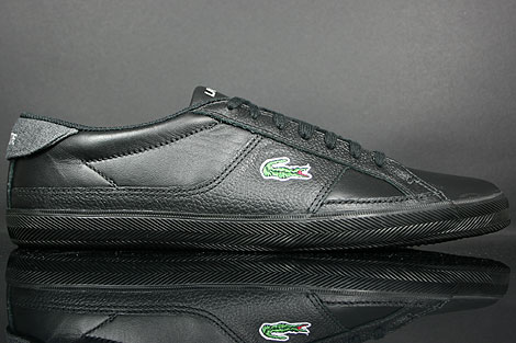 Lacoste Avant LTH SPM Leather Black Dark Grey