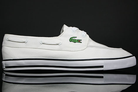 Lacoste Bateau SRM CNV White Right